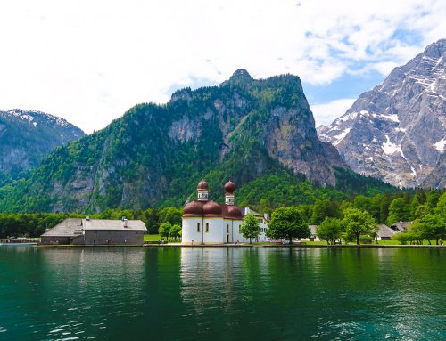Lake Königssee with St.Bartholomä & Eiskapelle