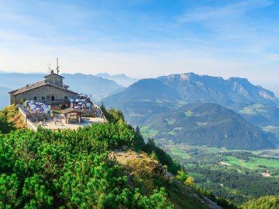 Eagle's Nest in Bavaria in Germany