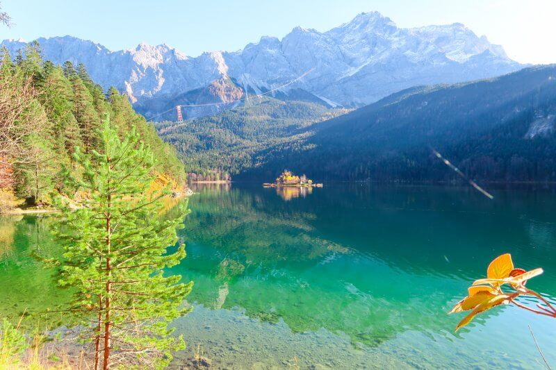 Travel to Eibsee with travel blogger The Globetrotting Detective