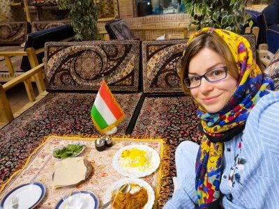 Travel to Iran with travel blogger The Globetrotting Detective