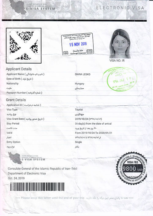How To Get Your Tourist Visa For Iran The Globetrotting Detective